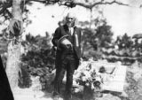 Man at Buffalo Bill's burial